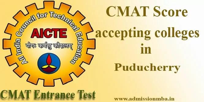 Top CMAT Colleges in Puducherry