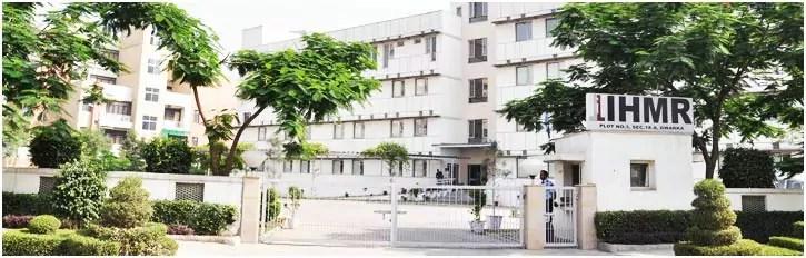IIHMR Delhi Admission