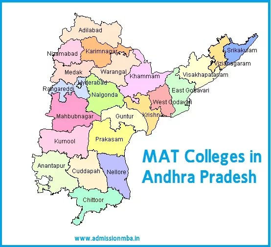 MBA Colleges Accepting MAT score in Andhra Pradesh