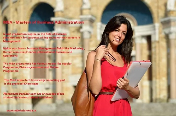 MBA - Masters of Business Administration