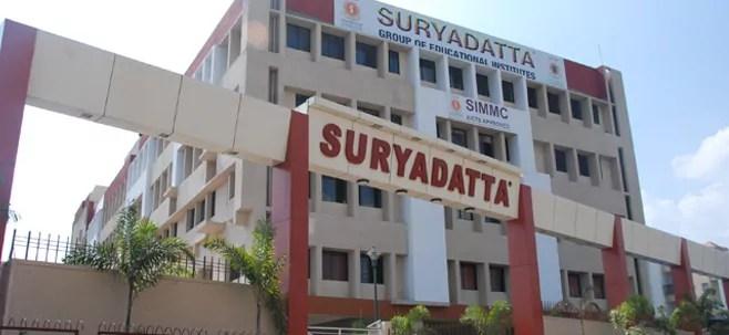 Suryadatta Pune Admission 2019