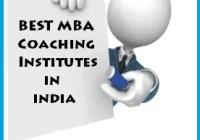 Best MBA Coaching Institutes in India