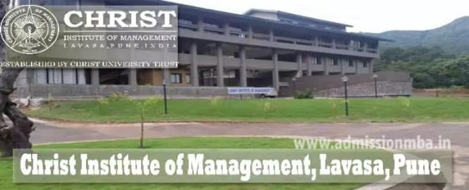 Lavasa, Pune, Christ-Institute of Management