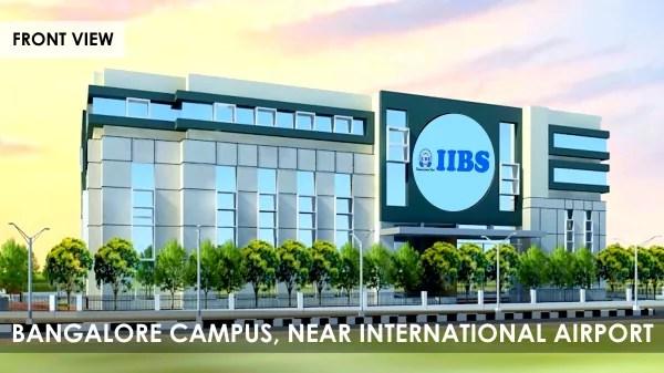IIBS Bangalore Admission 2019