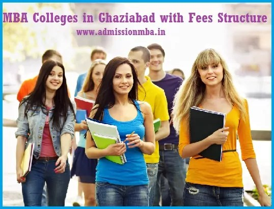 MBA Colleges in Ghaziabad Fees Structure