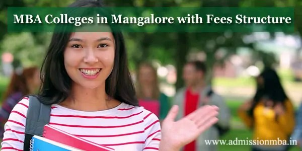 MBA Colleges in Mangalore with Fees Structure