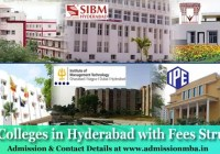 MBA Colleges in Hyderabad details with Fees