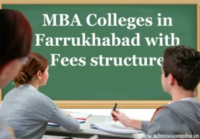 MBA Colleges in Farrukhabad with Fees structure