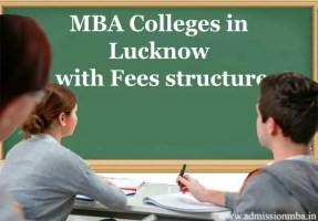 MBA Colleges in Lucknow with Fees Structure