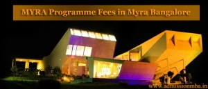 MYRA ProgrammeFees at MYRA School of Business Mysore