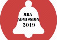 MBA Admission 2019