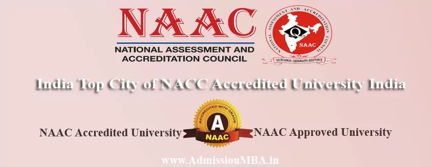NAAC approved University India