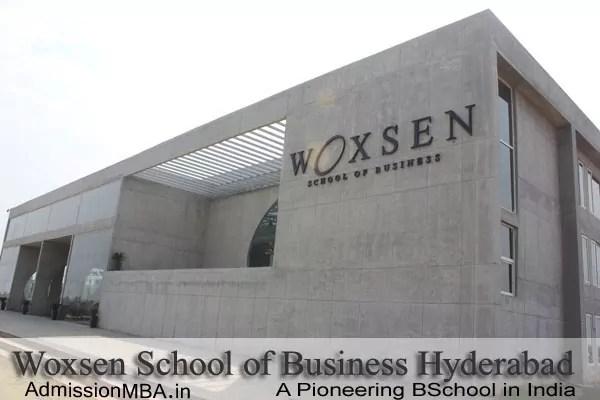 WSB Hyderabad Admission