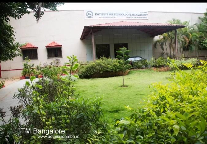 ITM Bangalore Admission 2020