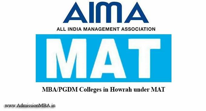 Howrah under MAT college