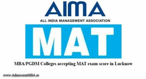 MBA/PGDM Colleges in Lucknow under MAT