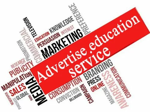 Contact Us Advertise education service