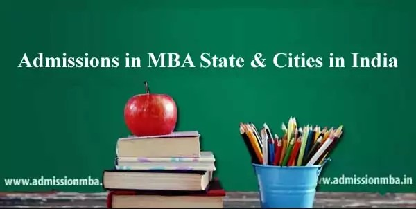 Admissions in MBA India