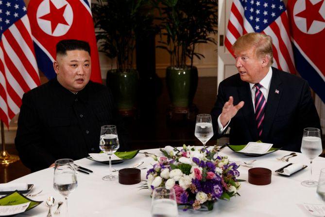 Image result for trump & Kim Dinner