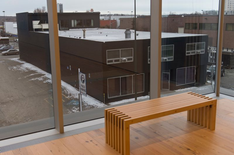A vacant building at 6th Avenue and A Street will become SEED Lab, a workspace for artists and designers. (Marc Lester / ADN)