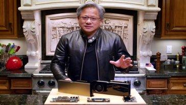 NVIDIA, nisan ayında gerçekleştirilen GTC konferansında şirketin CEO'su Jensen Huang'ın sanal bir kopyasının konuşturulduğunu açıkladı. NVIDIA, Huang'ın kopyasını oluşturmak için NVIDA ekiplerinin yapay zekâdan yararlandığını da belirtti.