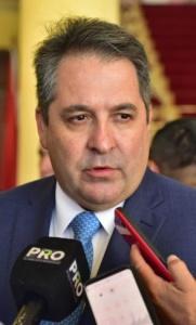 Édgar Melgarejo, titular de la Dinac.