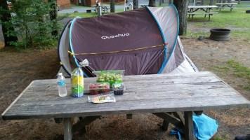 Queechee campsite