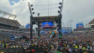Wrestlemania 33 Ring - View 2