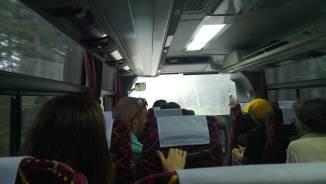 Mt Fuji bus