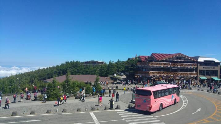 Mt Fuji station