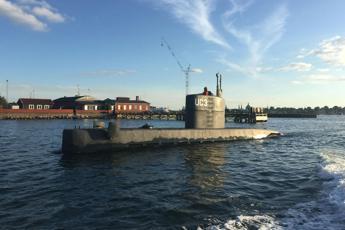 Danimarca, giornalista scompare da sottomarino