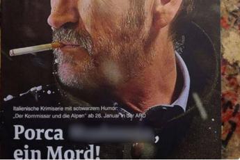 Schiavone con bestemmia, gaffe di una rivista tedesca