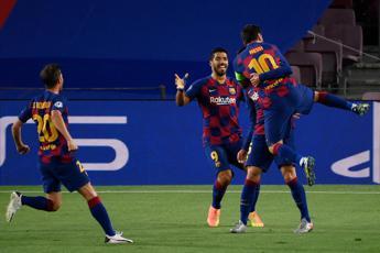 Napoli ko 3-1 e il Barcellona vola ai quarti