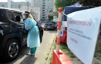 Coronavirus, 23% nuovi casi in Lombardia e 12% in Campania