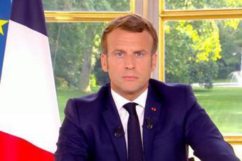 Macron: Lockdown in Francia da venerdì