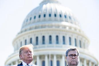 Trump: Barr si è dimesso da capo dipartimento Giustizia