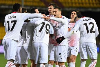 Benevento-Milan 0-2, rossoneri restano primi da soli