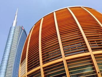 UniCredit, inaugurato a Milano il nuovo Pavilion /Video /Foto