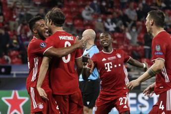 Supercoppa Europea, trionfa il Bayern