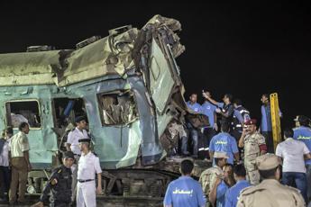 Disastro ferroviario in Egitto: 49 morti