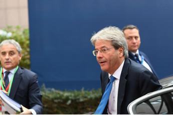 Gentiloni: Italia non è più fanalino di coda in Europa