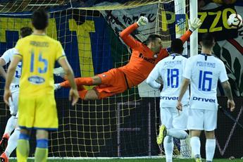 Tris dell'Inter al Frosinone