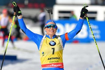 Mondiali Biathlon, Wierer oro nell'inseguimento