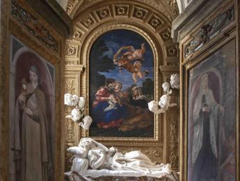 Restaurata la Cappella della Beata Albertoni del Bernini