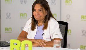 Mercedes Ibero, secretaria de Relaciones Institucionales del Ministerio de Salud