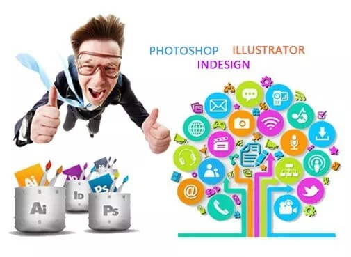 Infographie : Photoshop + Illustrator +IndeSign