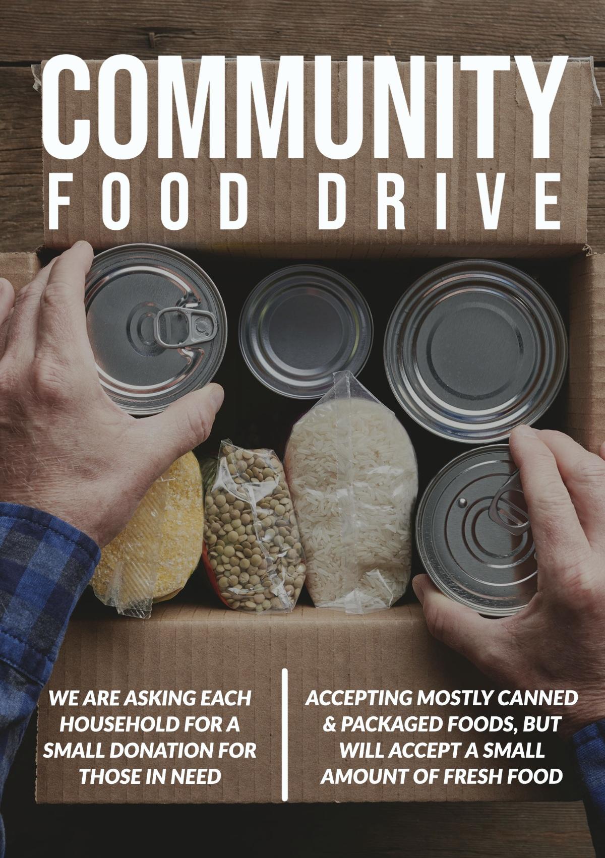 flyer ideas for fundraising adobe spark