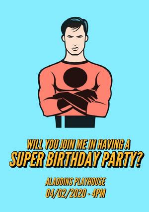 birthday invitation templates for boys