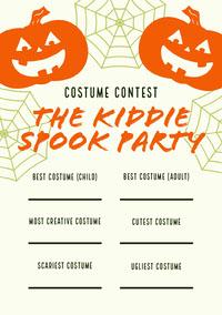 halloween party ideas adobe spark