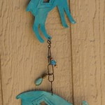 mountain goat wind chime